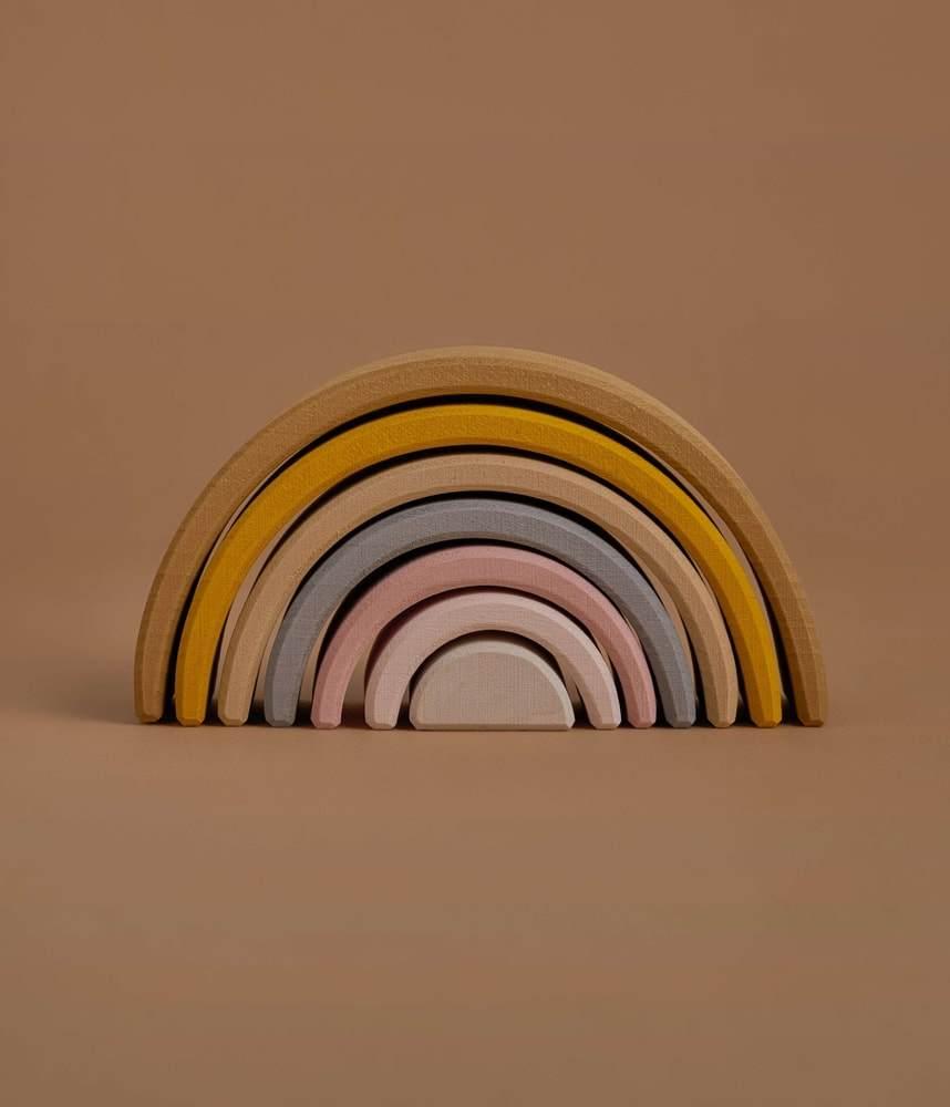 Stacker - Odin Parker Sand Rainbow Stacker, $33 - Best Montessori Toys