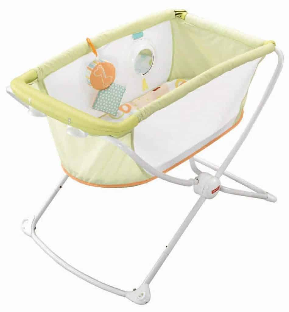 Fisher-Price Rock with Me Bassinet - Best Baby Rocker